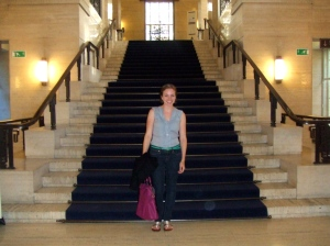 at Senate House Library